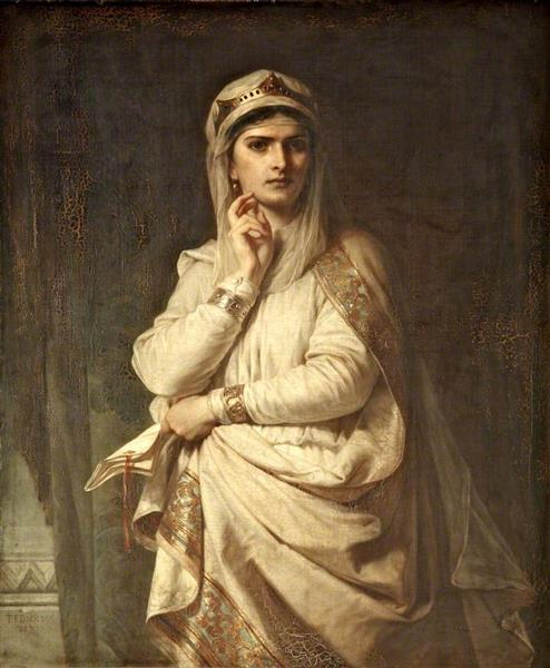 Ideal Portrait of Lady Macbeth, 1870 - Thomas Francis Dicksee