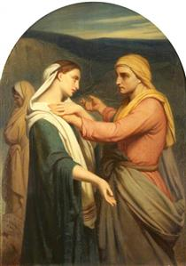 Ruth and Naomi - Ary Scheffer