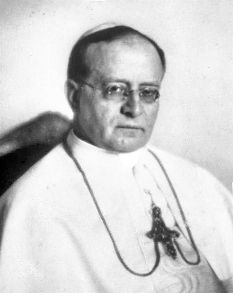 Papst Pius Xi., 1922 - Nicola Perscheid