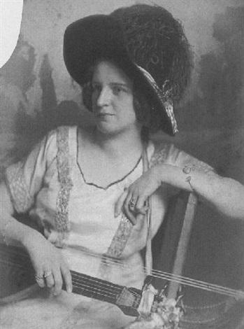 Elsa Laura Von Wolzogen (1876–1945), Deutsche Musikerin., 1923 - Nicola Perscheid