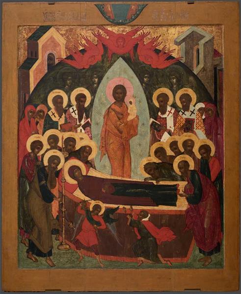 The Assumption of Our Lady, 1663 - Simon Ushakov