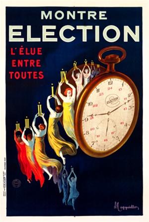 Montre Élection, 1922 - Leonetto Cappiello