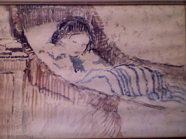 Daughter Frances, 1922 - Frederick Carl Frieseke