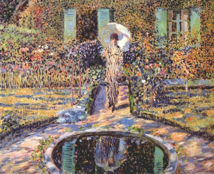 The Garden, 1915 - Frederick Carl Frieseke