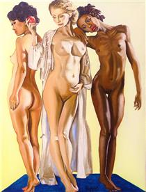 the Three graces - Hugues Folloppe