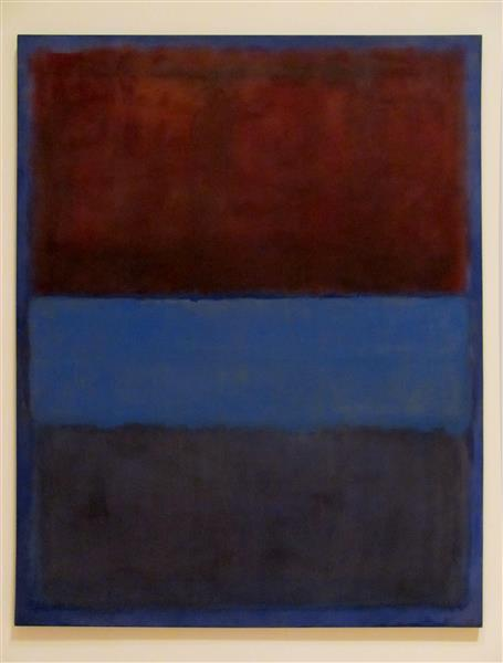 No.61 (Rust and Blue) - Mark Rothko