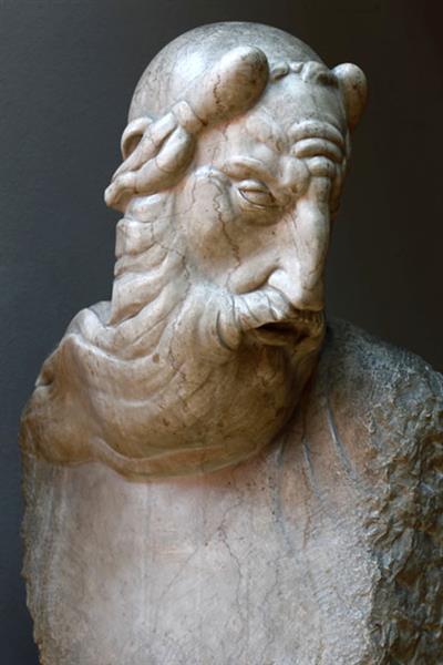 Moses, Head, 1918 - Ivan Meštrović