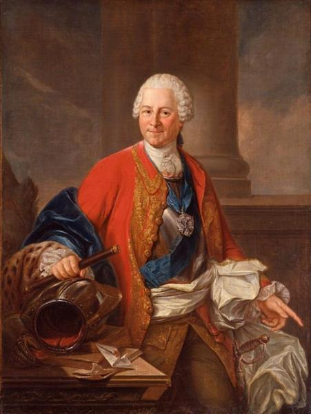 Heinrich Graf Von Brühl, c.1753 - Марчелло Баччареллі