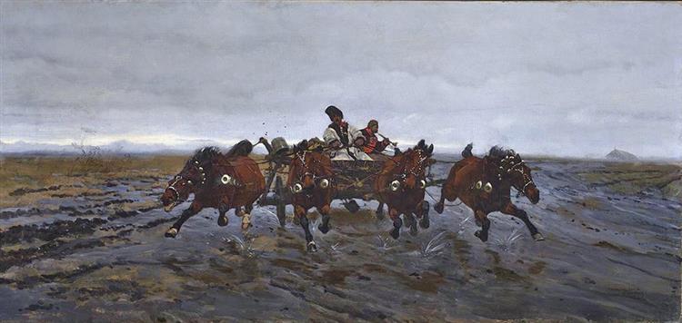 Four, 1881 - Józef Chełmoński