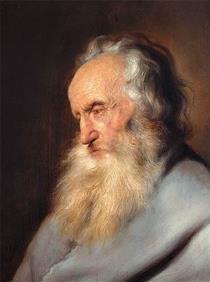 Old Bearded Man - Jan Lievens