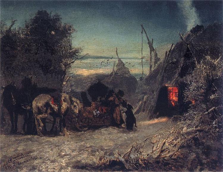 Morning in the Forest, 1870 - Józef Chełmoński