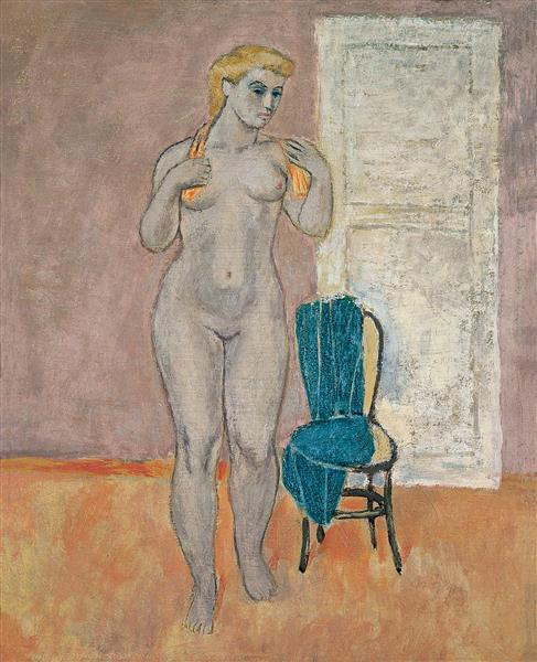 Untitled Nu, 1951 - Nuri Iyem