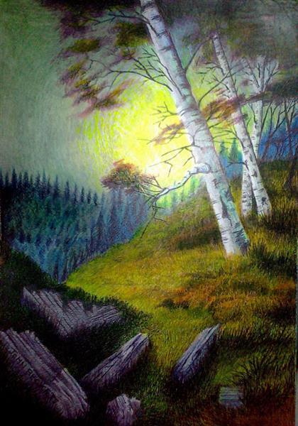 Yellow Subset by John-Baroque - John-Baroque