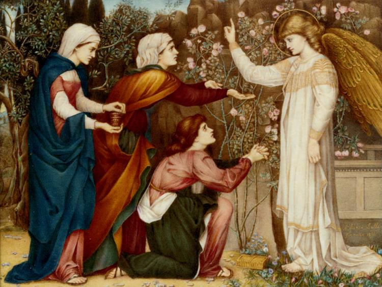 Why seek ye the living among the dread?, 1896 - John Roddam Spencer Stanhope