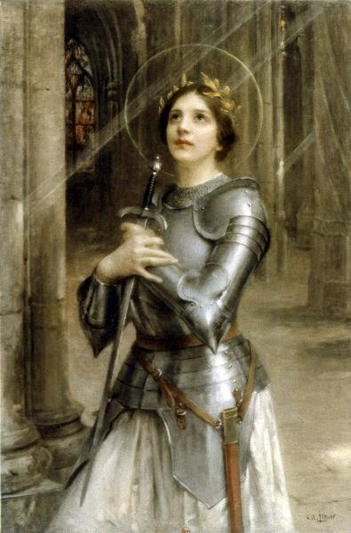 Joan of Arc - Шарль-Амабль Ленуар