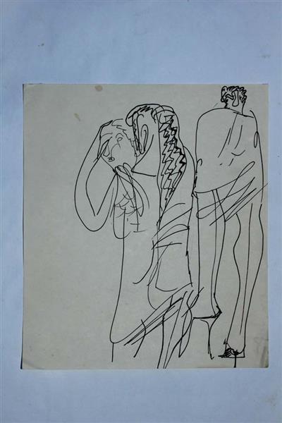 Drawing - Mihai Olos
