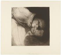 Death, Woman, and Child - Kathe Kollwitz