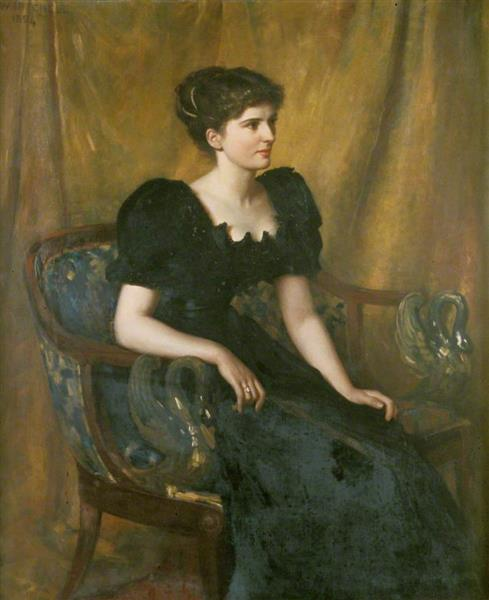 Mrs Mary Niven, 1893 - Charles William Mitchell
