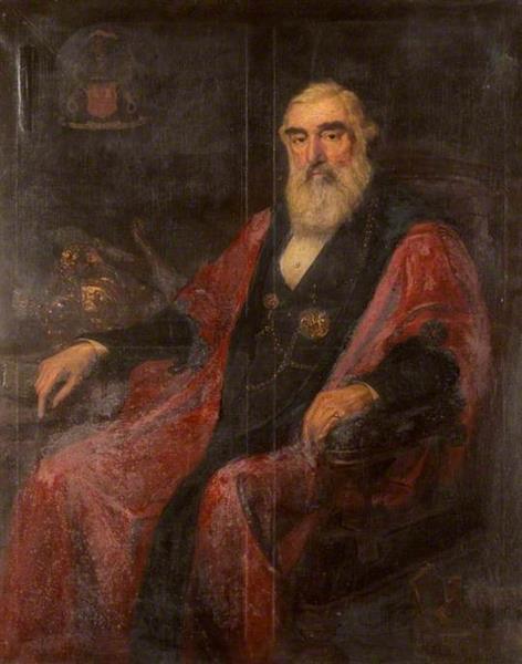 Alderman Thomas Robinson, c.1879 - Charles William Mitchell