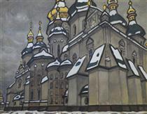 Заснеженные купола (София Киевская) - Yuriy Khymych