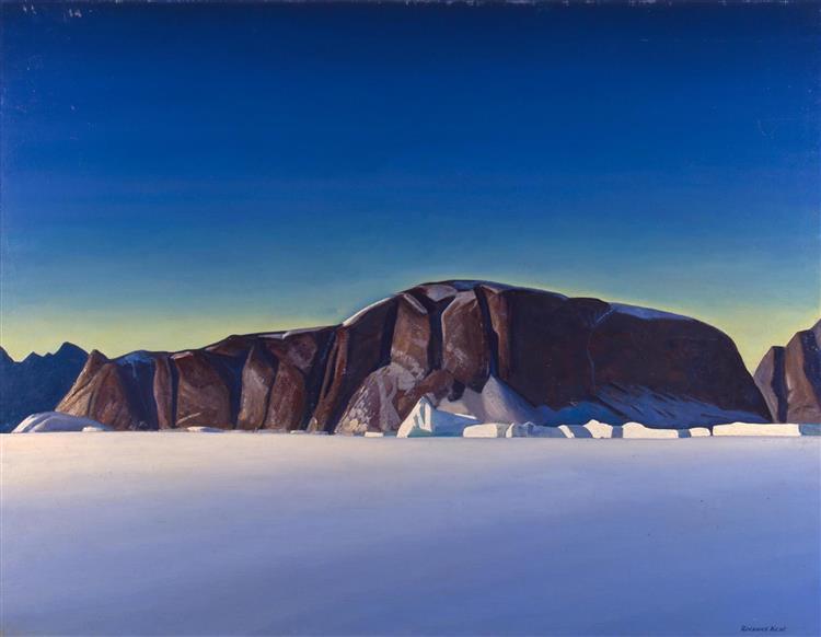 Greenland Coast - Rockwell Kent