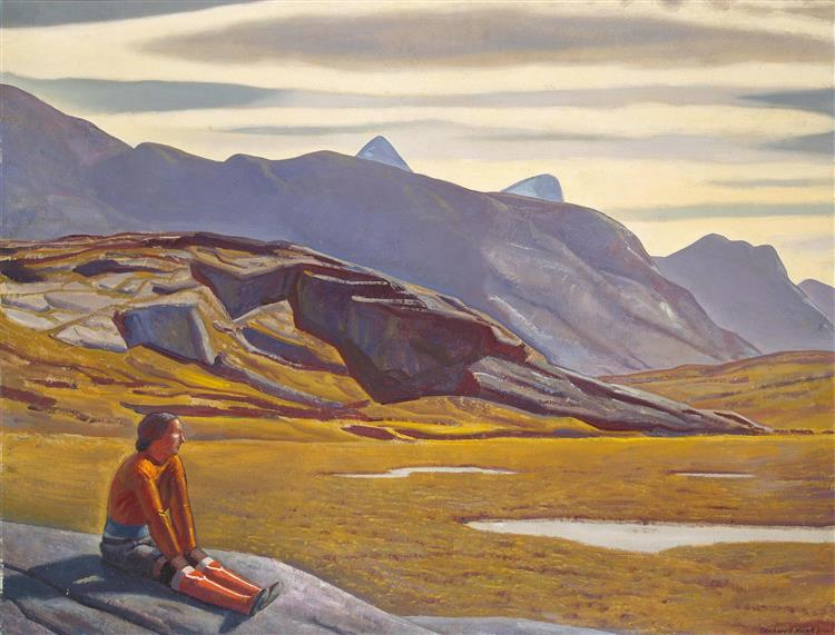 Greenland Tryst, 1929 - Rockwell Kent
