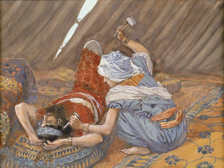 Jael Smote Sisera, and Slew Him, 1896 - 1902 - James Tissot