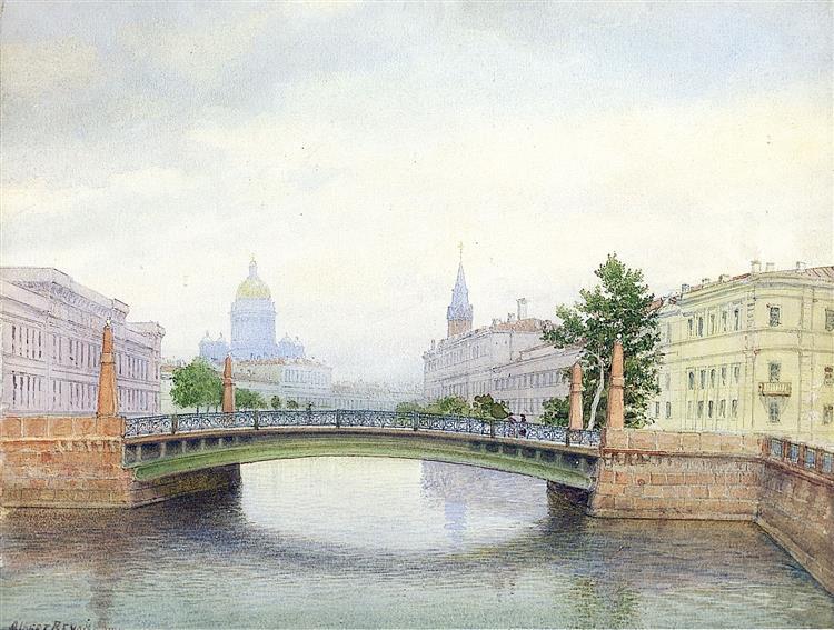 Potseluyev bridge - Albert Benois