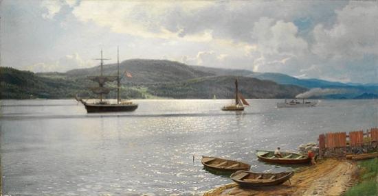 Fra Kristianiafjorden - Hans Gude