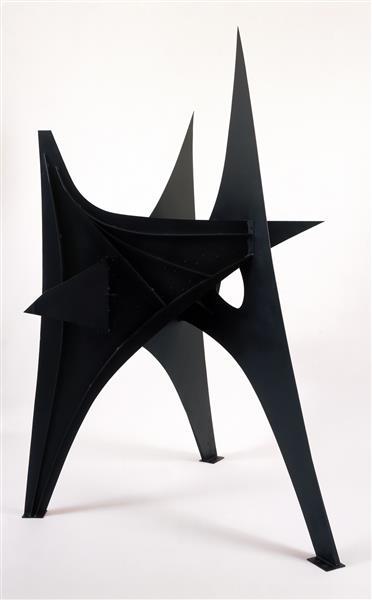 Trois Pics (intermediate Maquette), 1967 - Alexander Calder