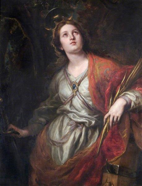 Santa Catalina de Alejandría, 1683 - Claudio Coello