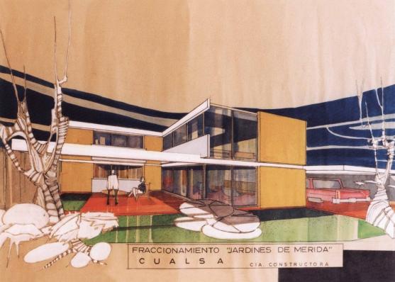 Casa En Fraccionamiento Jardines De Mérida, 1965 - Fernando García Ponce