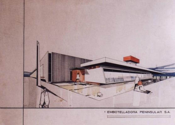 Embotelladora Peninsular, 1966 - Fernando García Ponce