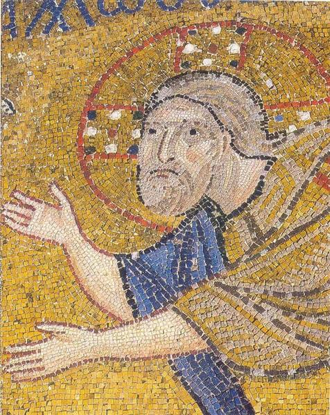 Agony in the Garden (detail), c.1056 - Byzantine Mosaics