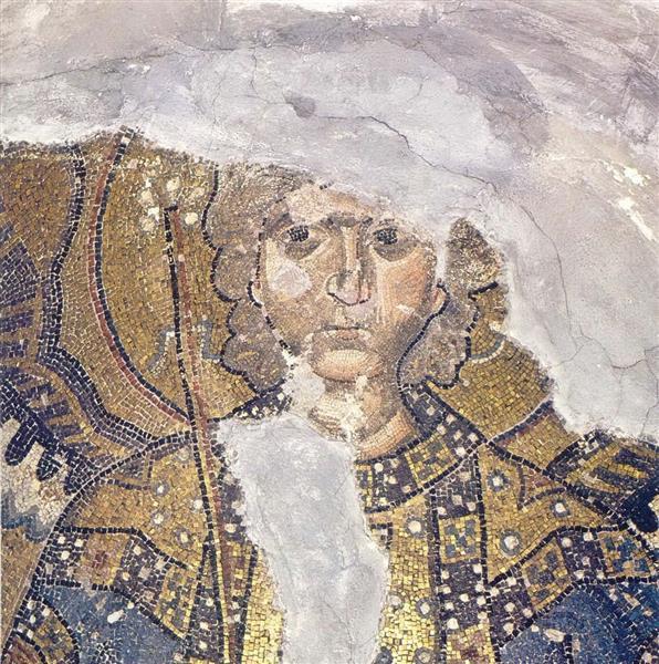 Archangel Gabriel, c.1056 - Byzantine Mosaics