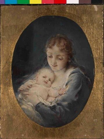Madona S Dítětem - Maximilian Pirner