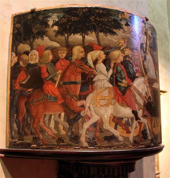 Trionfo della fama, c.1450 - Lo Scheggia