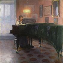 The Piano Player - Elin Danielson-Gambogi