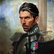 Gianluigi Buffon - Fabrizio Birimbelli (Pupazarro)