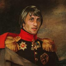 Johan Cruyff - Fabrizio Birimbelli (Pupazarro)