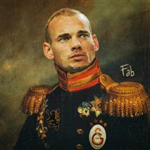 Wesley Sneijder - Fabrizio Birimbelli (Pupazarro)