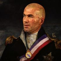 Zinedine Zidane - Fabrizio Birimbelli (Pupazarro)