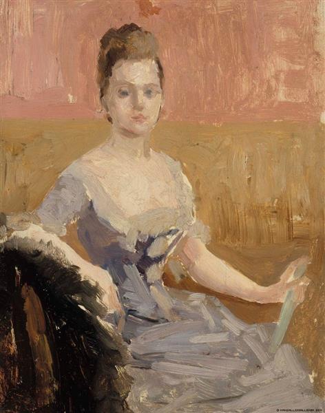 Augusta Lewenhaupt - Albert Edelfelt