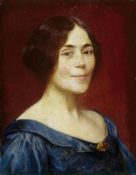 Self-portrait, 1899 - Elin Danielson-Gambogi