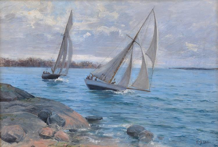 Seglats, c.1890 - Элин Даниельсон-Гамбоджи