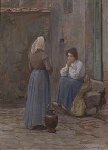 Two Women - Elin Danielson-Gambogi