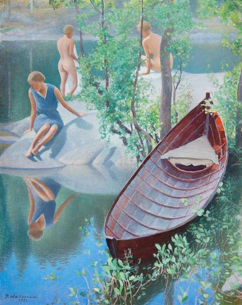 Summer Idyll, 1931 - Halonen, Pekka