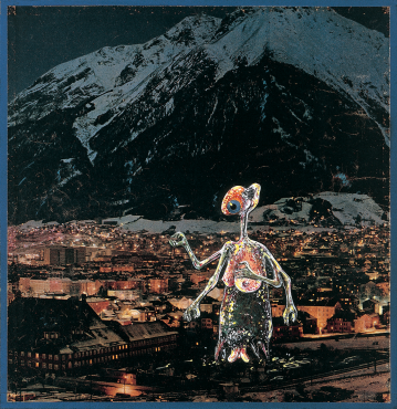TIROL, INNSBRUCK (EIN FÜHRER DURCH ÖSTERREICH FÜR AUSSERIRDISCHE WESEN NR.3), 1964 - 1965 - Christian Ludwig Attersee