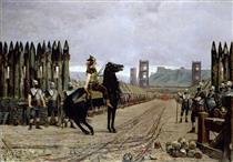 Vercingétorix Se Rend À César - Henri-Paul Motte