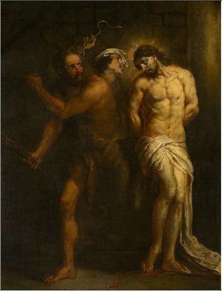 The Flagellation of Christ - Jan Cossiers